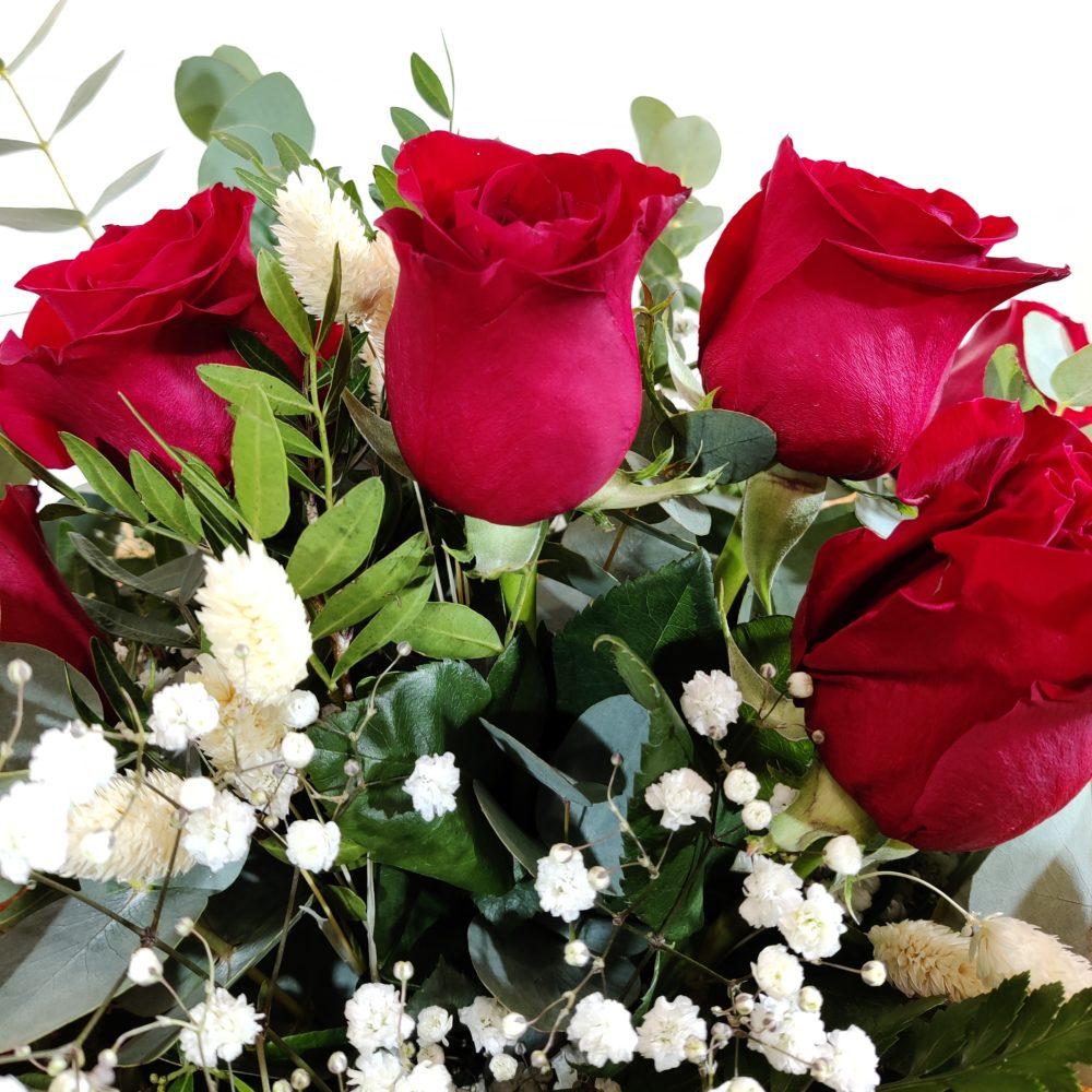 ramo 7 rosas